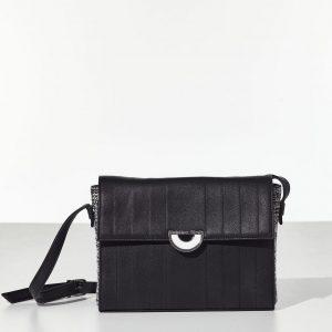 Black Garment Bag Γυναικεία τσάντα με καπάκι