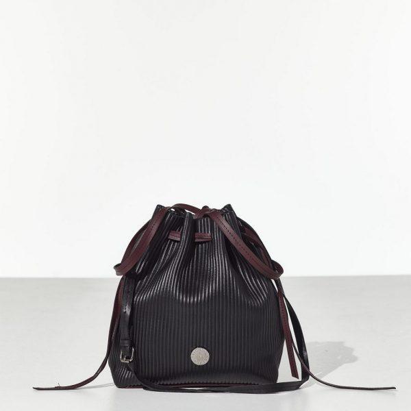 Black Bucket Bag Τσάντα ώμου - πουγκί