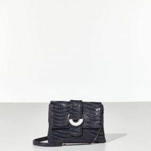 Grey Elegant bag Γυναικεία τσάντα ώμου