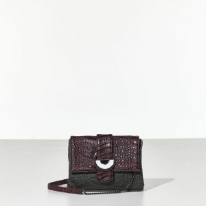 Croco Elegant bag Γυναικεία τσάντα ώμου