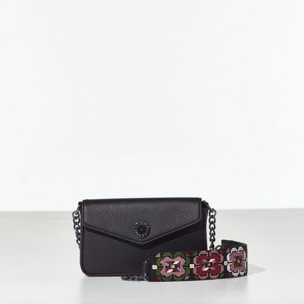 Black envelope bag Γυναικεία Mini bag