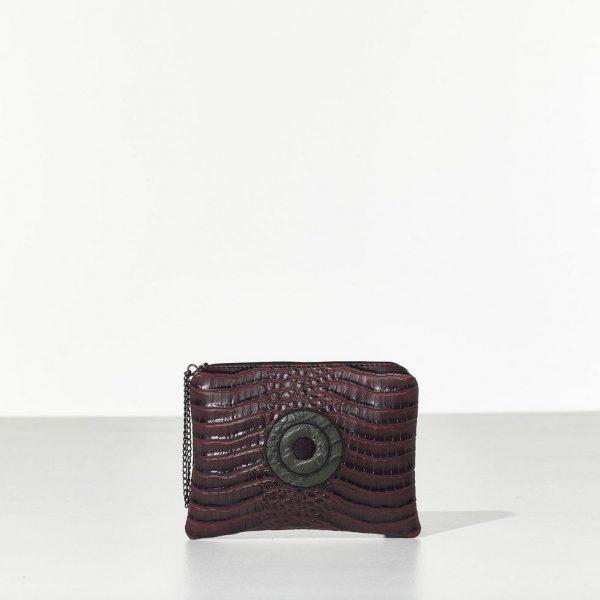 Miss Bordeaux γυναικεία τσάντα Mini Clutch
