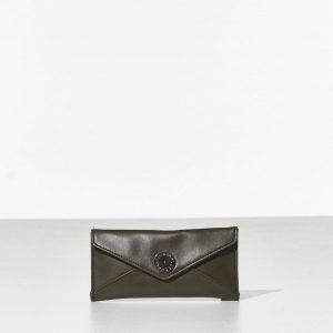 Olive Wallet Γυναικείο Πορτοφόλι